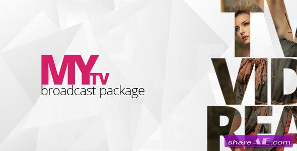 My TV Broadcast Package - Project for After Effects (VideoHive)