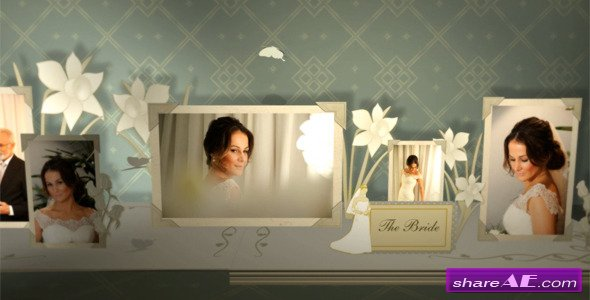 3D Wedding Photo Album - Project for After Effects (Videohive)