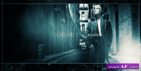 Liquid Time - Project for After Effects (VideoHive)
