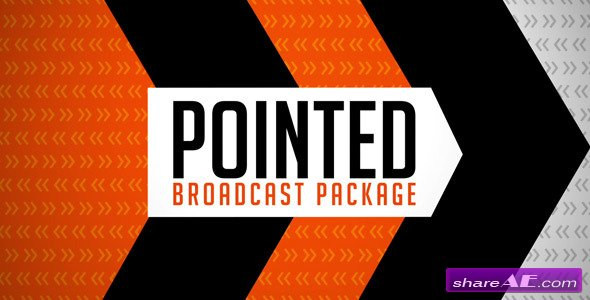 Pointed Broadcast Package - Project for After Effects (VideoHive)