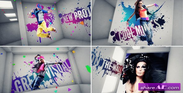 On The Wall - Project for After Effects (VideoHive)