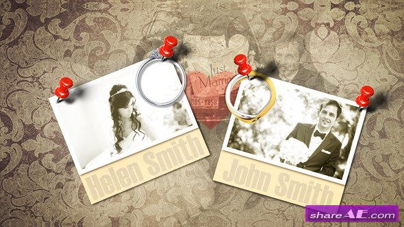 Wedding Photo Album - Project for After Effects (VideoHive)