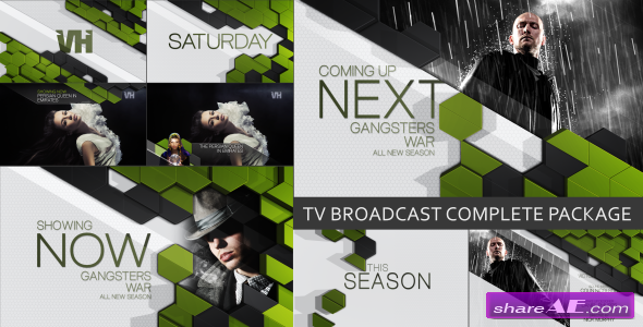 TV Broadcast Complete Package - Project for After Effects (VideoHive)