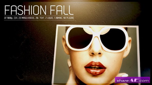 Fashion Fall - Project for After Effects (VideoHive)