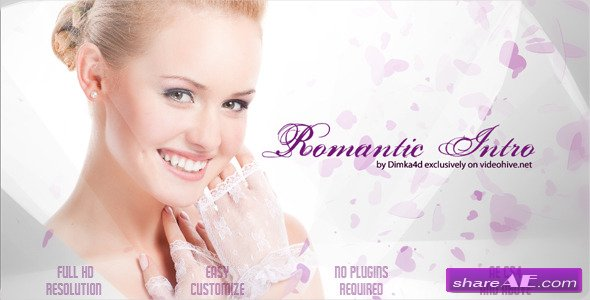 Romantic Intro - Project for After Effects (VideoHive)