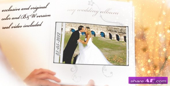 Wedding Album Love Memories - Project for After Effects (Videohive)