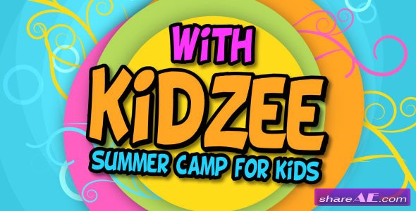 Kidzee - Summer Camp For Kids - Project for After Effects (Videohive)