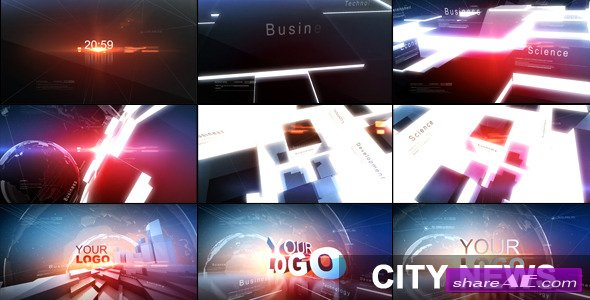 City News - Project for After Effects (Videohive)