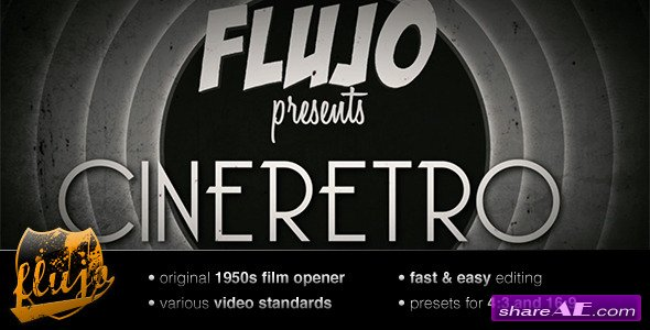 CineRetro - Project for After Effects (Videohive)