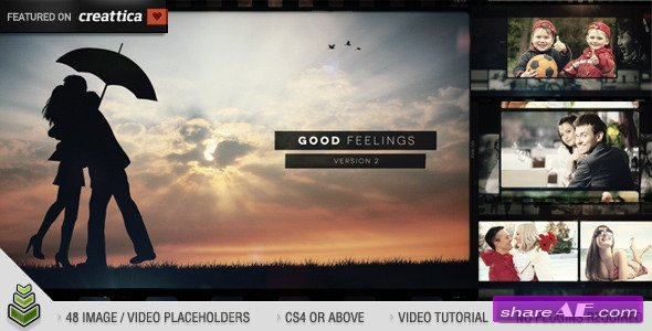 Videohive Good Feelings v2 - After Effects Project