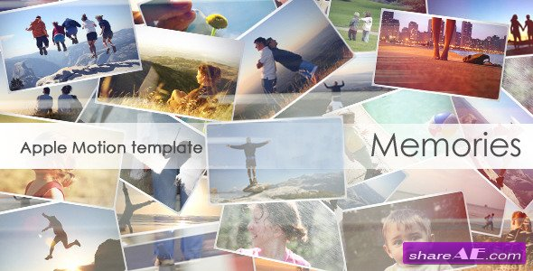 memories 4372927 apple motion template videohive - Free Apple Motion Templates