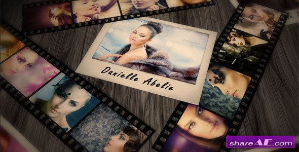Dramatic Filmstrip Photos - After Effects Project (Videohive)