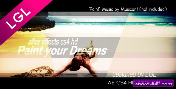 Paint Your Dreams - Project for After Effects (Videohive)