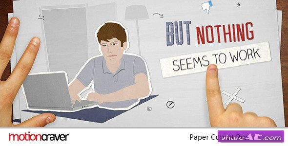 Paper Cut Out Promo - Project for After Effects (Videohive)