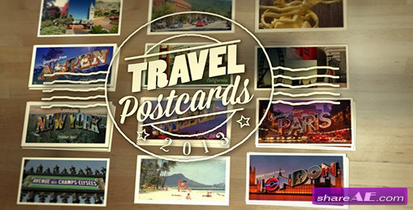 Travel Postcards - Project for After Effects (Videohive)
