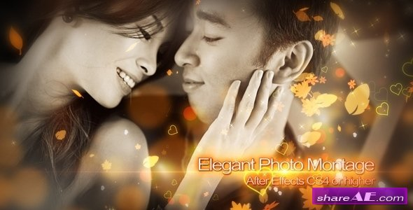 Elegant Photo Montage - Project for After Effects (Videohive)