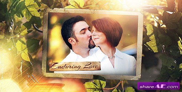 The Secret Garden Photo Gallery - Project for After Effects (Videohive)