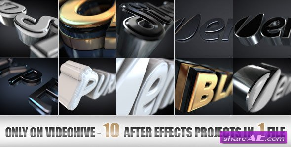 Elegant and Modern Logo or Text Opener - Project for After Effects (Videohive)