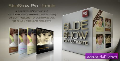 Slideshow Pro Ultimate - Project for After Effects (Videohive)
