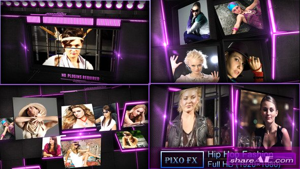 Hip Hop Fashion - Project for After Effects (Videohive)