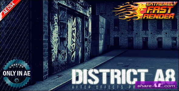 District A8 - Project for After Effects (Videohive)