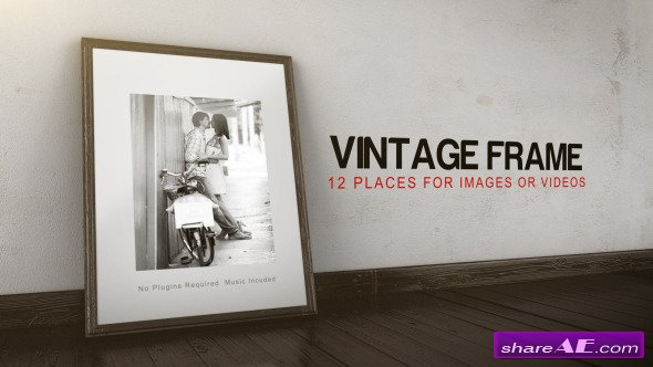 Vintage Frame Gallery - Project for After Effects (Videohive)