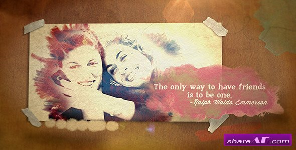 Watercolor Quotes Portrait - Project for After Effects (Videohive)