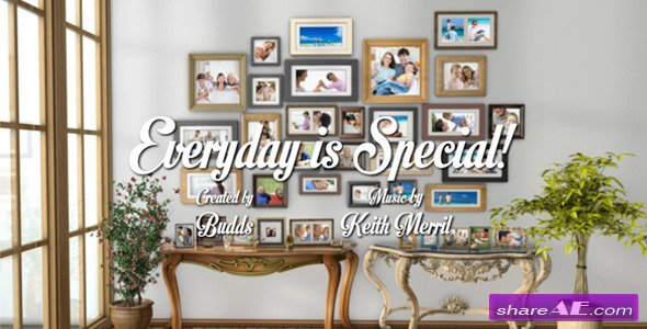 Everyday is Special - Project for After Effects (Videohive)