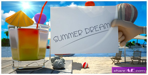 Summer Dream Vacation - Project for After Effects (Videohive)