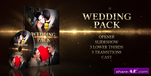 Wedding Pack 4588232 - Project for After Effects (VideoHive)