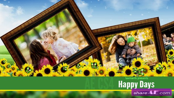 Happy Days - Project for After Effects (Videohive)