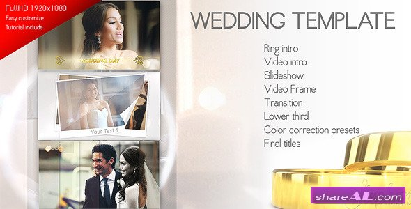 Wedding Mega Pack - Project for After Effects (Videohive)