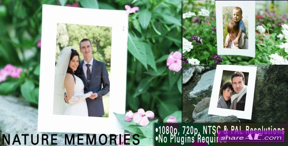 Nature Memories - Project for After Effects (Videohive)