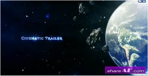 Cinematic Space Trailer - Project For After Effects (Videohive)