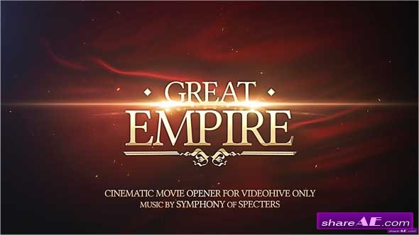 Great Empire Opener - After Effects Project (Videohive)