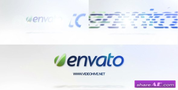 Clean White Logo - After Effects Project (Videohive)