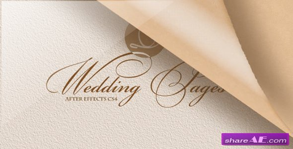 Wedding Pages - Project for After Effects (Videohive)