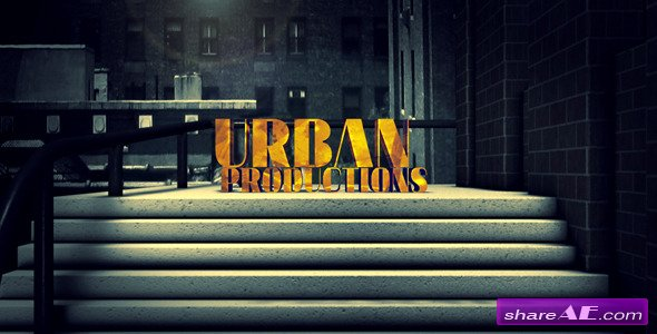 Shattered: An Urban Movie Intro - After Effects Project (Videohive)
