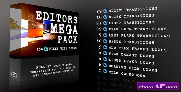 Motion Graphic - Editors Mega Pack  (Videohive)