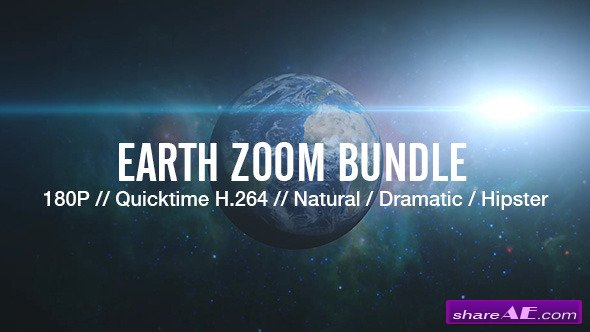 Motion Graphics - Earth Zoom Bundle (Videohive)