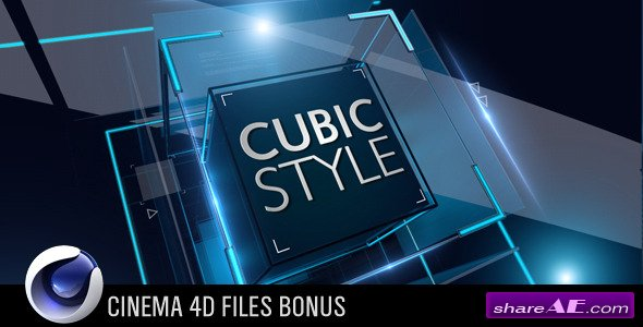 Cubic Style - Project for After Effects (VideoHive)