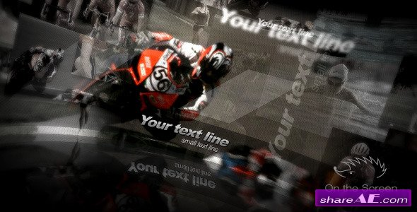 On the Screen - After Effects Project (Videohive)
