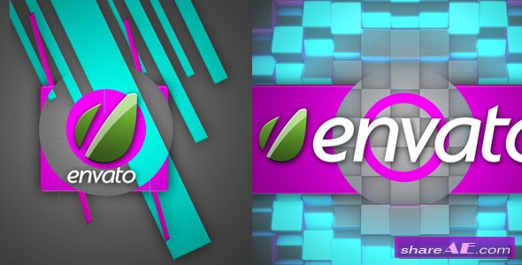 Cube Experiment Logo Animation - After Effects Project (Videohive)