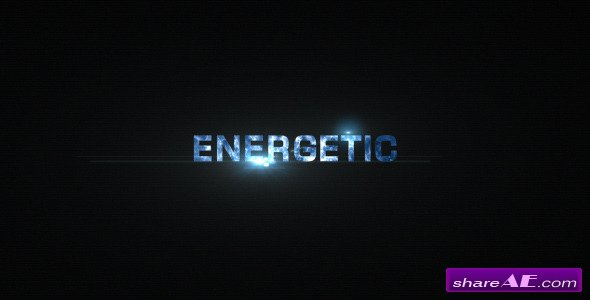 Energetic Titles - After Effects Project (Videohive)