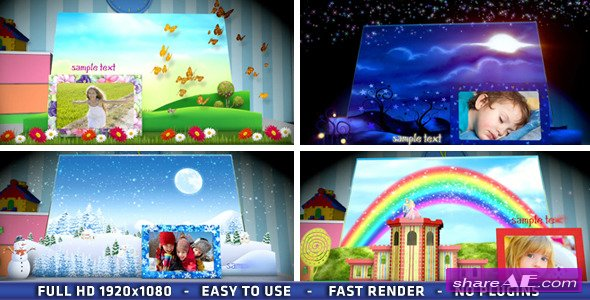 Magic Popup Book - After Effects Project (Videohive)