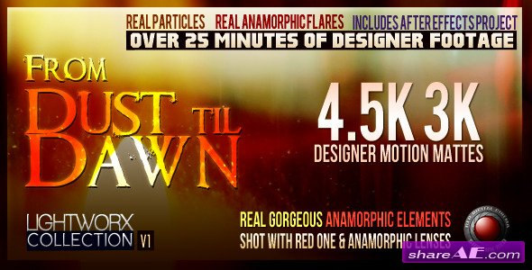 From Dust Till Dawn: LightWorx Collection - V1 - Project For After Effects (Videohive)
