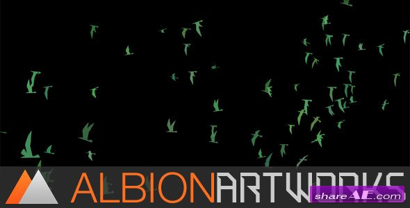 Flocking Bird Generator - After Effects Project (Videohive)