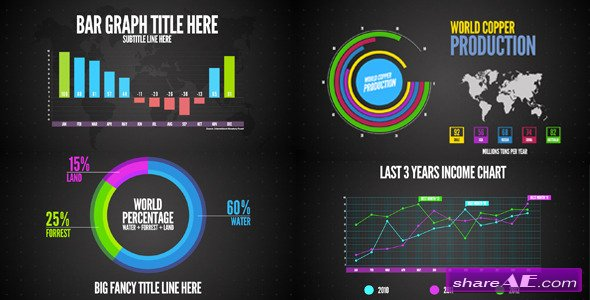Infographics - After Effects Project (Videohive)
