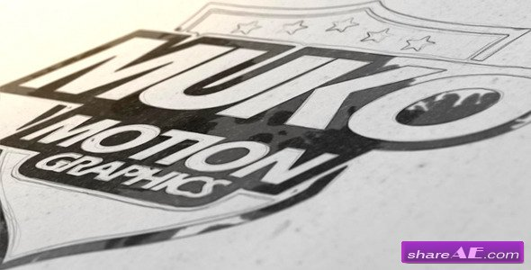 Draw And Ink Logo - After Effects Project (Videohive)