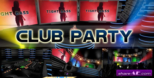 Club Party Promotion - After Effects Project (Videohive)